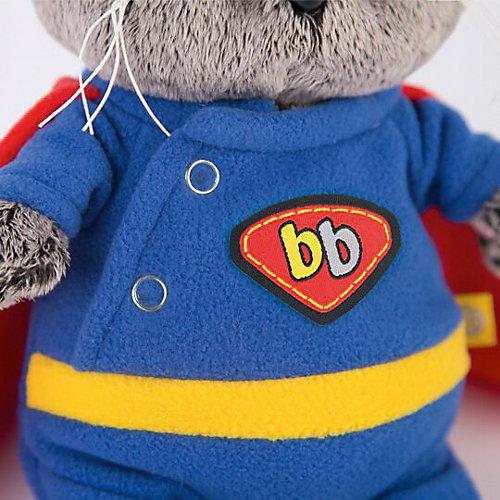 Мягкая игрушка Budi Basa Кот Басик Baby в костюме супермена, 20см от Budi Basa