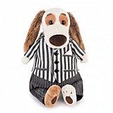 Мягкая игрушка Budi Basa Собака Бартоломей в костюме, 27 см