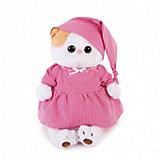 Мягкая игрушка Budi Basa Кошечка Ли-Ли в розовой пижамке, 24 см