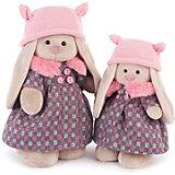 Мягкая игрушка Budi Basa Зайка Ми в пальто и розовой шапке, 25 см