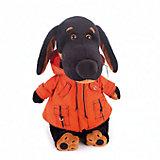 Мягкая игрушка Budi Basa Собака Ваксон в оранжевой ветровке, 25 см