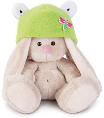 Мягкая игрушка Budi Basa Зайка Ми в шапке-лягушка, 15 см