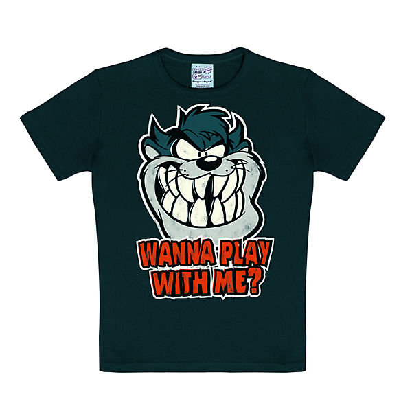 Logoshirt T Shirt Mit Aufdruck Looney Tunes Wanna Play With Me T