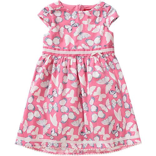 S.Oliver,s.Oliver Baby Kleid, Schmetterling Gr. 98 Mädchen Kleinkinder | 04055268268811