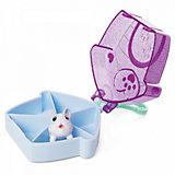 Фигурка Chubby Puppie, в домике на брелке, фиолетовая