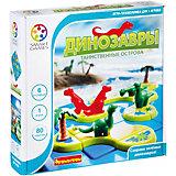 """Игра-головоломка """"Динозавры. Таинственные острова"""" Bondibon"""