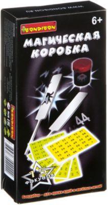 Фокусы Магическаякоробка №1(15фокусов), Bondibon