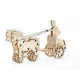 Сборная модель Римская колесница Wooden City