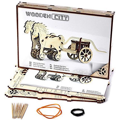 Сборная модель Колесница Да Винчи Wooden City от Wooden City