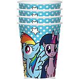 """Набор стаканов для праздника My Little Pony """"Вместе веселее"""" 4шт."""