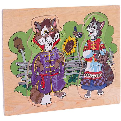 "Рамка-пазл ""Кот и кошка""  Чудо-Дерево от Чудо-Дерево"