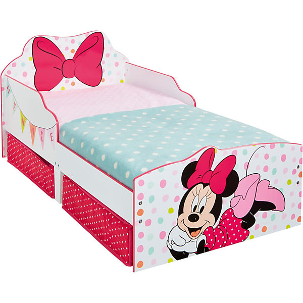 Kinderbett Minnie, inkl. Schubladen, 70 x 140 cm, Disney Minnie ...