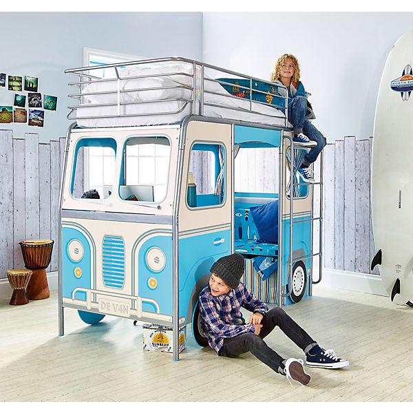 Kinderbett bus 190 x 90 cm worlds apart mytoys - Kinderbett bus ...