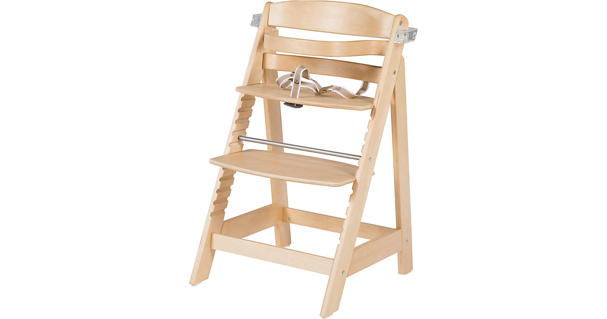 Treppenhochstuhl SIT UP FUN, Buche massiv natur   Kinderzimmer > Kinderzimmerstühle > Hochstühle   Roba