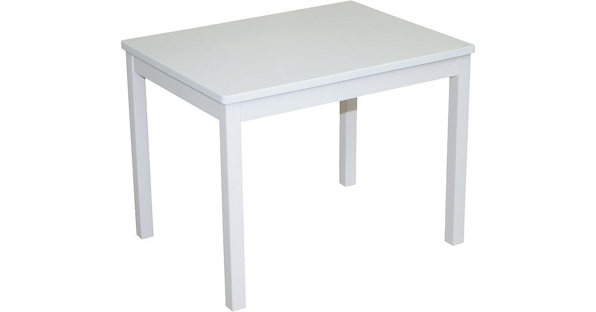 roba · roba Kindertisch, weiß lackiert