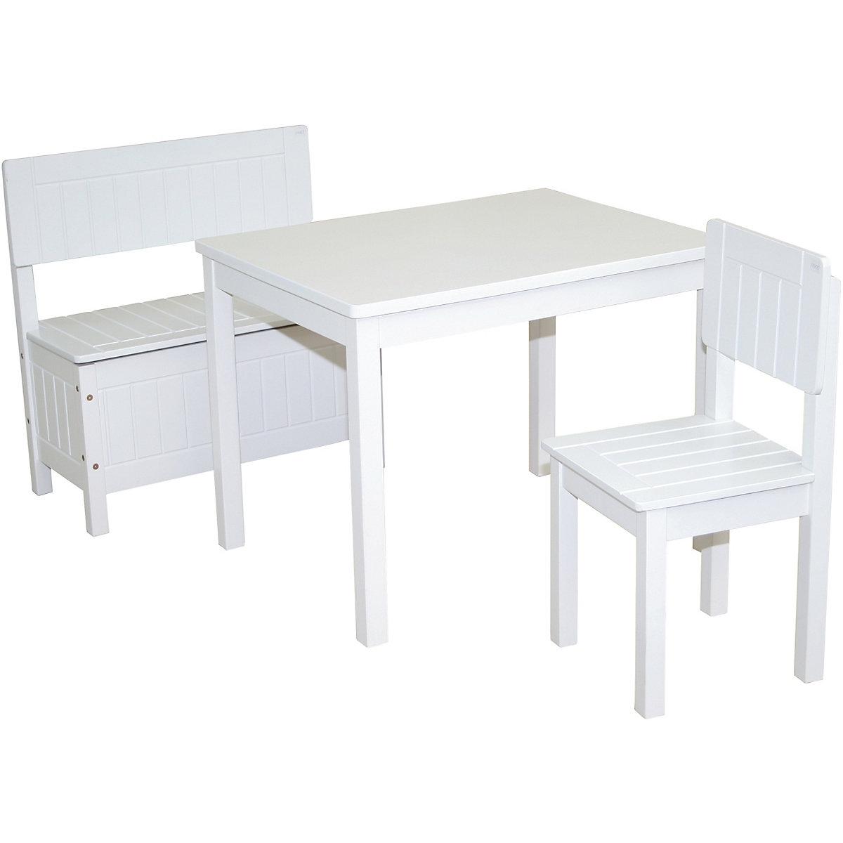 Kindertisch Weiß Lackiert Roba