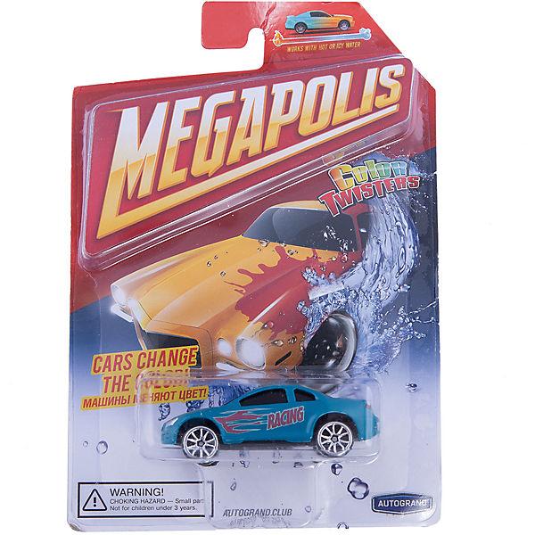 Машинка Autotime, Color Twisters Water Chameleon, металлическая, сине-красный