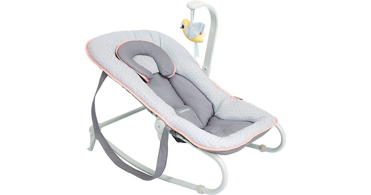 babymoov · Wippe BOUNCER, graphic peach