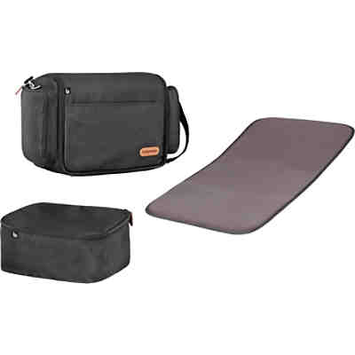 2-in-1 Babytragetasche Travelnest, black