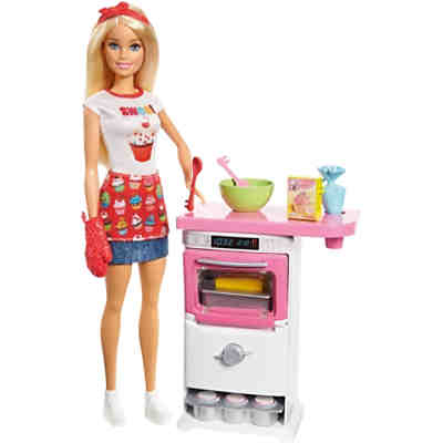 "Barbie ""Cooking & Baking"" Bäckerin Puppe & Spielset"