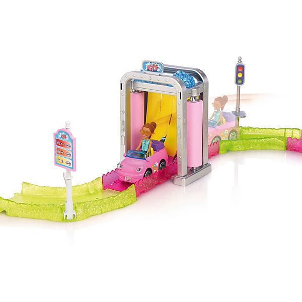 """Набор с куклой Barbie """"В движении"""" Мойка машины"""