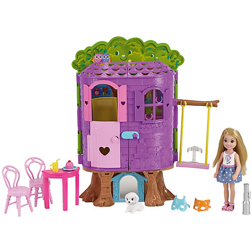 Игровой набор Barbie «Домик на дереве Челси» от Mattel