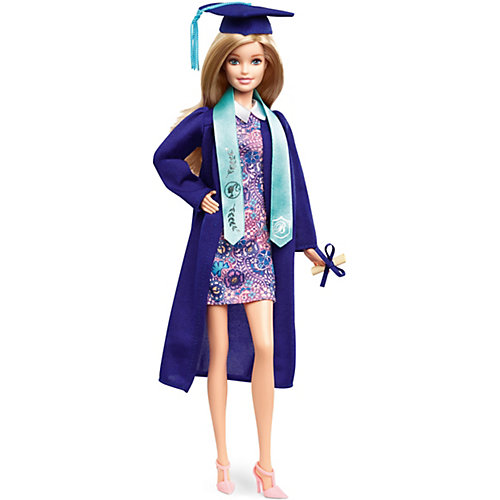 Коллекционная кукла Barbie Выпускница, 29 см от Mattel
