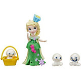 """Мини-кукла Hasbro Холодное сердце """"Маленькое королевство"""" Эльза и снеговики"""