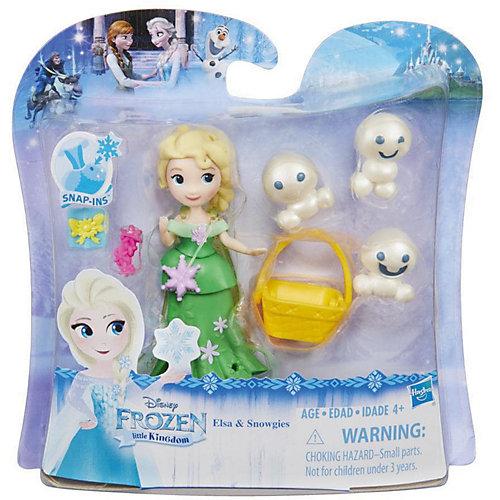 """Мини-кукла Hasbro Холодное сердце """"Маленькое королевство"""" Эльза и снеговики от Hasbro"""
