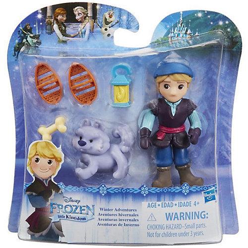 """Мини-кукла Hasbro Холодное сердце """"Маленькое королевство"""" Кристофф с волком от Hasbro"""