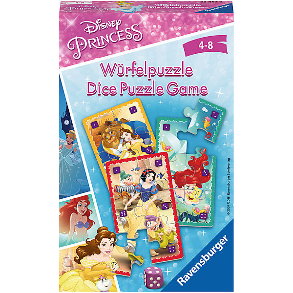 Disney Princess: Würfelpuzzle