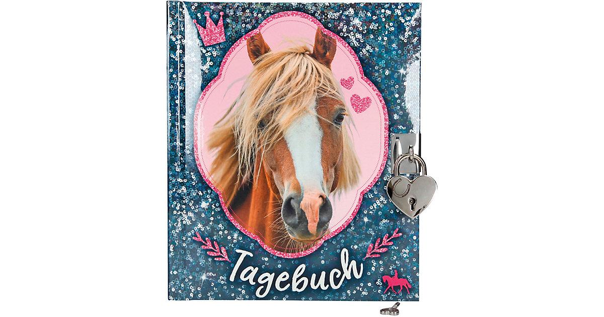 Depesche · Horses Dreams Tagebuch, blau