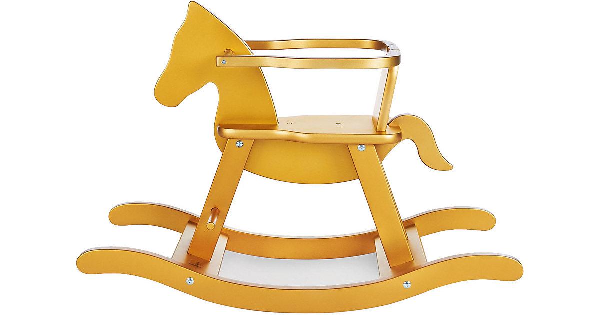 Pinolino · Schaukelpferd Pinolino mit Ring, gold
