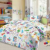 Детское постельное белье 3 предмета Letto, простыня на резинке, BGR-38