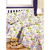 Детское постельное белье 3 предмета Letto, простыня на резинке, BGR-55