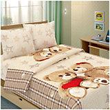 Детское постельное белье 1,5 сп Letto, Влюбленные мишки