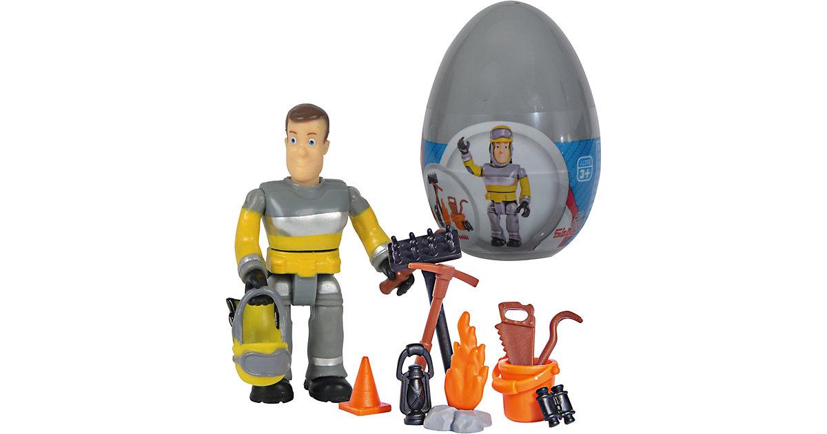Feuerwehrmann Sam Einzelfigur mit Zubehör II im Ei, 1 Stück