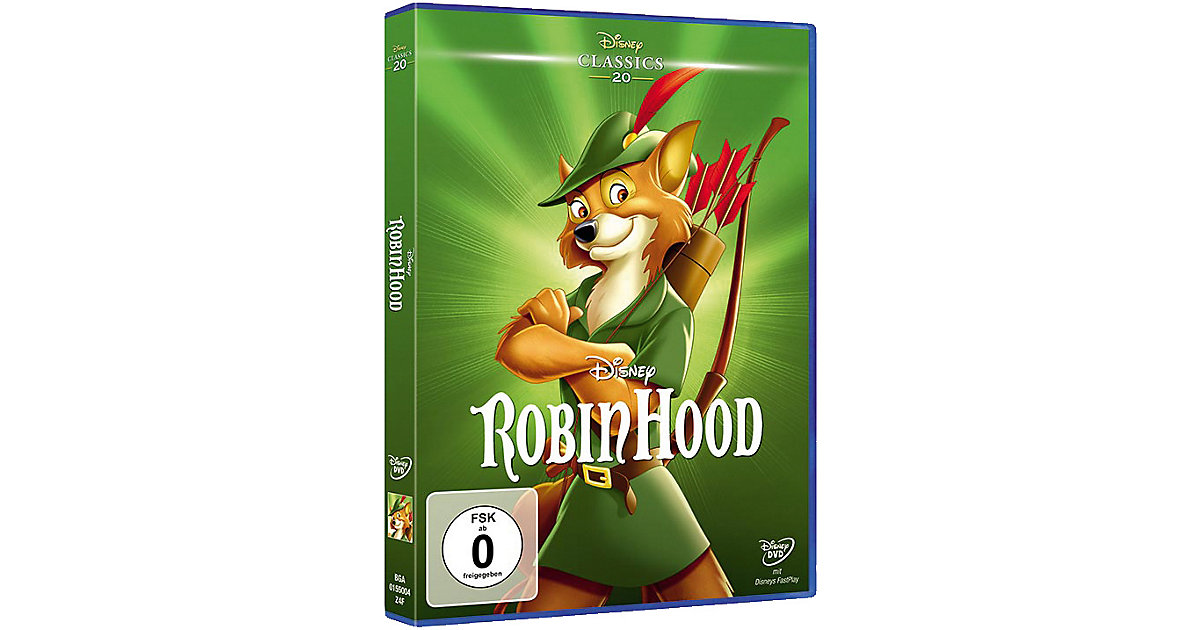 DVD Robin Hood (Disney Classics)