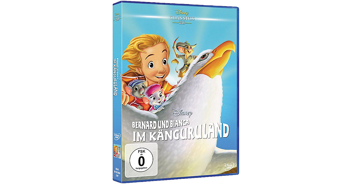 DVD Bernard und Bianca im Känguruland (Disney Classics Hörbuch