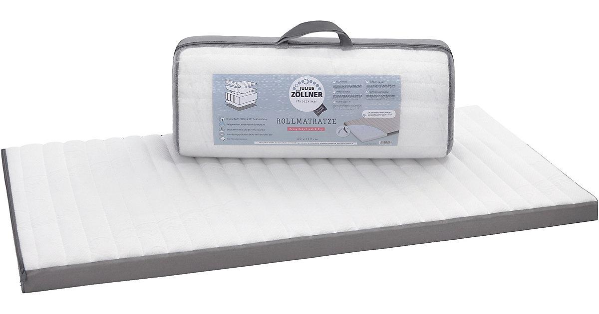 Reisebettmatratze Travelsoft Premium, 60 x 120 cm weiß