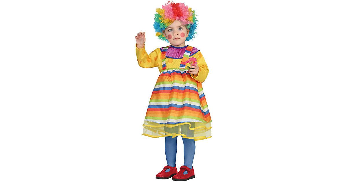 Kostüm Clown Gr. 68/80 Mädchen Baby