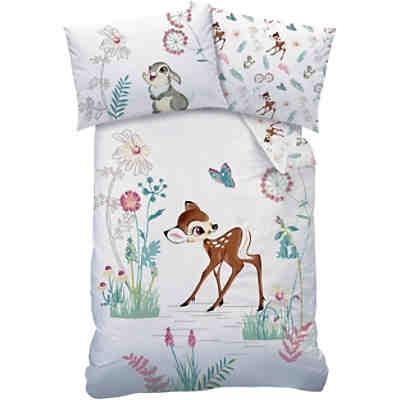 wende kinderbettw sche bambi 100 x 135 cm cti mytoys. Black Bedroom Furniture Sets. Home Design Ideas