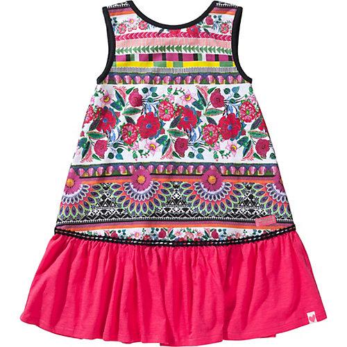 Desigual Kinder Jerseykleid, Organic Cotton, Folklore Gr. 134/140 Mädchen Kinder | 08434486384132