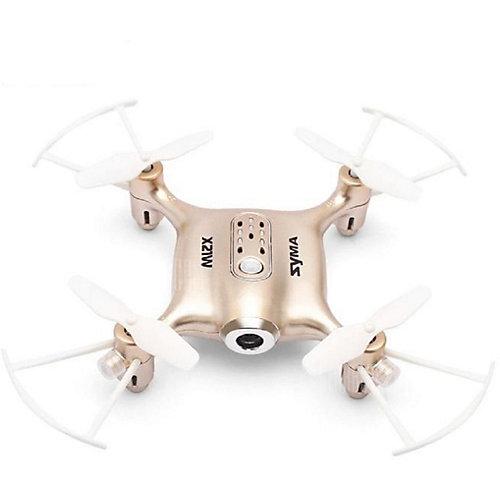 Квадрокоптер с WiFi камерой  SYMA X21W золотистый от Syma