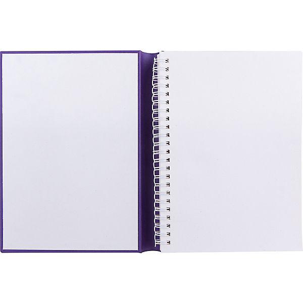 """СкетчБук-книга фиолетовый, """"Молот"""""""