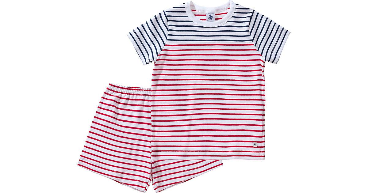 PETIT BATEAU · Schlafanzug Gr. 140 Jungen Kinder
