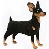 Мягкая игрушка Hansa Собака породы цвергпинчер, 43 см