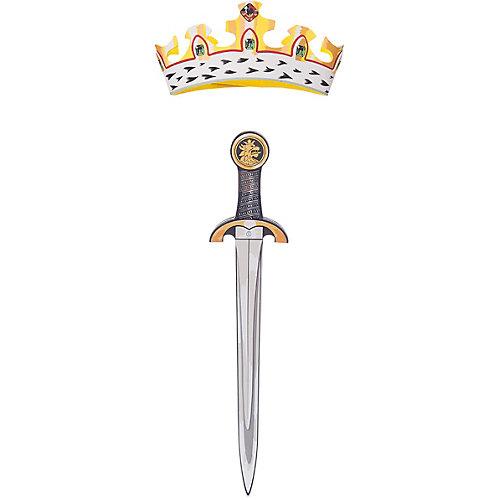 """Набор """"Благородный рыцарь"""" (Красный), Lion Touch (Меч,Корона) от Liontouch"""