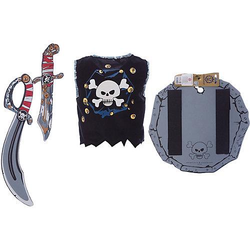 Набор для пирата, Lion Touch (Жилет,Щит,Сабля,Нож,Крюк) от Liontouch