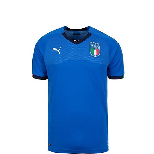 PUMA Kinder Fußballtrikot Italia, dryCELL Gr. 152   04059504592814